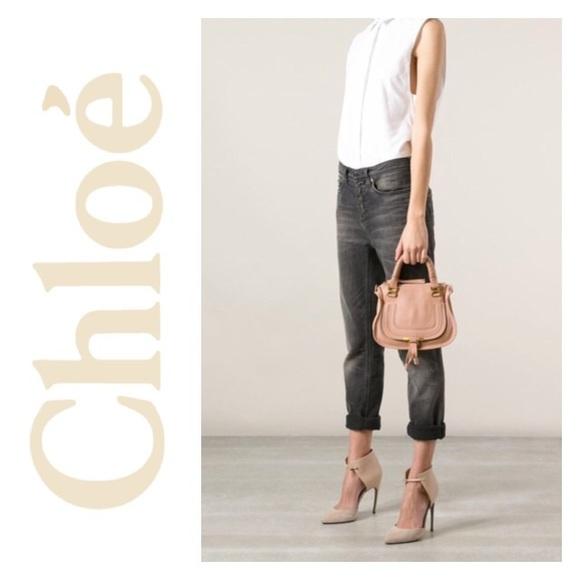 d218e2c44f8 Chloe Bags | Marcie Baby Small Mini 2way Satchel Pink | Poshmark